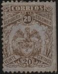 Stamps America - Colombia -  Escudo antiguo de la  República de Colombia.