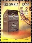 Sellos del Mundo : America : Colombia : AMERICA UPAEP 2011 - BUZONES