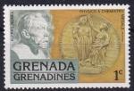 Sellos de America - Granada -  Alfred Nobel