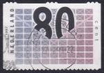 Sellos de Europa - Holanda -  carta 80c