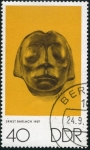 Stamps : Europe : Germany :  Escultura Ernest Barlach