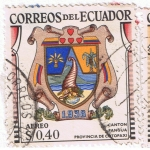 Sellos del Mundo : America : Ecuador : Canton Pagua Provincia de Cotopaxi