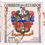 Sellos del Mundo : America : Ecuador : Canton Latacunga Provincia de Cotopaxi