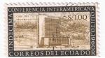 Sellos del Mundo : America : Ecuador : Undécima Conferencia Interamericana Quito 1960