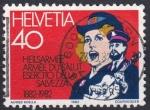 Stamps : Europe : Switzerland :  ejercito de salvación