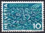Sellos de Europa - Suiza -  pro  agua