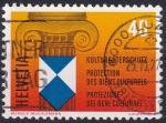 Stamps : Europe : Switzerland :  protección de los bienes culturales