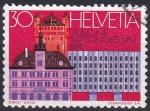 Stamps : Europe : Switzerland :  Congreso UPU Lausana