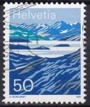 Sellos de Europa - Suiza -  lago Moesola