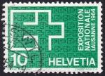 Stamps Switzerland -  exposición nacional Lausana 1964