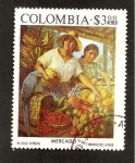 Sellos del Mundo : America : Colombia : PARA DAVID MERINO