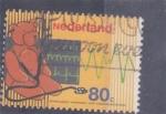 Sellos del Mundo : Europa : Holanda :  SALUD