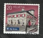 Sellos del Mundo : Europa : Suiza :  2484 - Estación de Alp Grüm