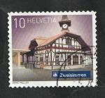 Sellos del Mundo : Europa : Suiza :  2482 - Estación de Zweisimmen