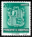 Stamps Andorra -  Andorra-cambio