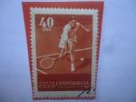 Sellos del Mundo : Europa : Rusia : Tenis- Spartakiade de las Naciones de la URSS