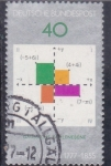 sello : Europa : Alemania : Bicentenario de nacimiento de Carl Friedrich Gauss (1777-1855)