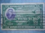 de America - Honduras -  General: Tiburcio Carias Andino (1876-1969) 8° president (1932/36)e