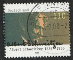 de Europa - Alemania -  1921 - 125 anivº del nacimiento de Albert Schweitzer