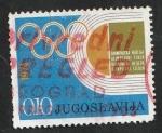 de Europa - Yugoslavia -  1446 - Ayuda a la Semana Olímpica