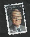 Sellos del Mundo : America : Estados_Unidos :  George H. W. Bush