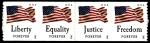 Sellos del Mundo : America : Estados_Unidos : BANDERAS DE ESTADOS UNIDOS