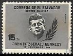 Sellos del Mundo : America : El_Salvador : John F. Kennedy (1917-1963)
