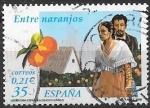 de Europa - España -  entre naranjos