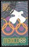 de America - México -  Juegos Olímpicos de Verano - 1968