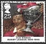 de Europa - Reino Unido -  Centenario de la liga de rugby