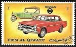 Sellos de Asia - Emiratos Árabes Unidos -  Coches - Nissan