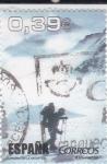 Stamps Spain -  ALPINISMO EN LA ANTÁRTIDA(43)