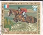 Sellos del Mundo : Africa : Guinea_Ecuatorial : OLIMPIADA MUNICH'72