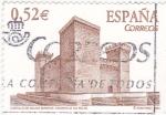 sello : Europa : España : CASTILLO DE AGUAS MANSAS(43)