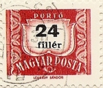Stamps Hungary -  PORTÓ