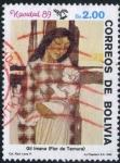 Sellos de America - Bolivia -  Navidad '89