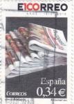 Sellos de Europa - España -  EL CORREO -diarios centenarios(44)