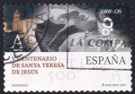 Sellos del Mundo : Europa : España : Centenario de Santa Teresa