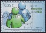 Sellos del Mundo : Europa : España : por el respeto en la red