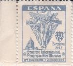 Sellos del Mundo : Europa : España : CONGRESO INTERNACIONAL CONGREGACIONES MARIANAS(44)