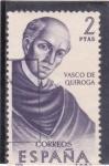 Stamps Spain -  VASCO DE QUIROGA (44)