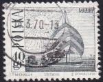 Sellos de Europa - Polonia -  Yate en el Lago Masuria