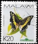 Sellos del Mundo : Africa : Malawi : mariposas