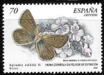 Sellos del Mundo : Europa : España : mariposas