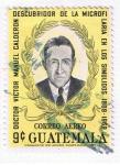 Sellos del Mundo : America : Guatemala : Dr. Victor Manuel Calderón descubridor de la miicrofilaria en los simulidos  1889 - 1969