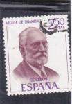 Sellos de Europa - España -  MIGUEL DE UNAMUNO(44)