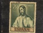Stamps Spain -  LA ORACIÓN EN EL HUERTO (44)