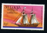 Sellos del Mundo : America : Santa_Lucía : bicentenario revolución america