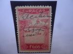 Sellos de America - Curazao -  Antillas Holandesas. Ingresos paises bajos- Estampilla del Caribe -