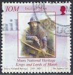Stamps  -  -  Isla de Man usados - Exposición